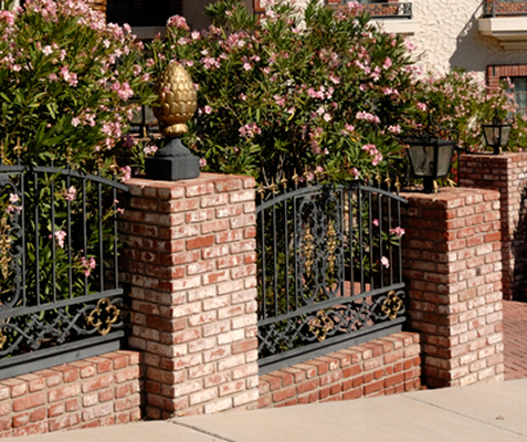 Black Iron Fence, Masonry and Fencing in Casa Grande, AZ